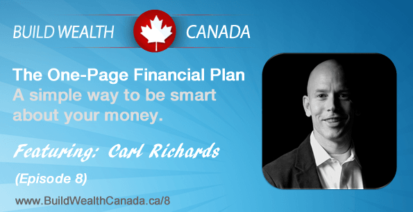 The one-page financial plan. Interview with Carl Richards.